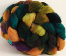 Batt in a Braid #43 - Macaw - Dorset/Cheviot/Kid Mohair (60/20/20) - Inglenook Fibers