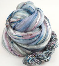 Grey Havens - Merino/Shetland/Sari and Mulberry silks/Tweed Blend (40/25/25/10)