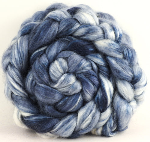 Puddle - Wensleydale/ Mulberry silk roving (65/35)