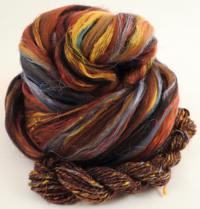 Edoras - Merino/Zwartables/Sari and Mulberry Silks/FLAX (40/25/25/10)