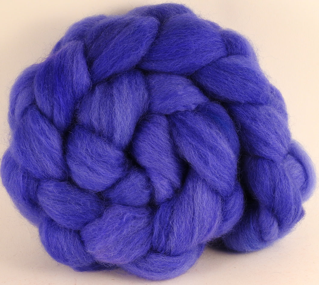 Batt in a Braid #43 - Cornflower (5.4 oz.) - Dorset/Cheviot/Kid Mohair (60/20/20) - Inglenook Fibers