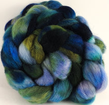 Batt in a Braid #43 - Sea-Green (5.3 oz.) - Dorset/Cheviot/Kid Mohair (60/20/20) - Inglenook Fibers