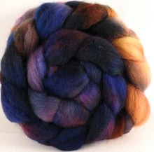 Batt in a Braid #43 - Eventide (5.3 oz.) - Dorset/Cheviot/Kid Mohair (60/20/20) - Inglenook Fibers
