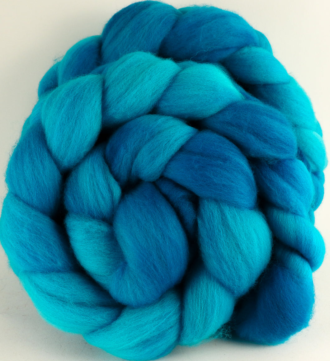 Hand dyed top for spinning - Jersey (5.2) - Organic Polwarth