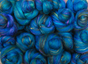 Sock Batts - Atlantis - (4 oz.) - Inglenook Fibers
