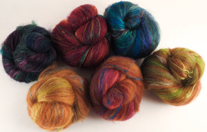 Sock Batts - Chipotle - (4.6 oz.) - Inglenook Fibers