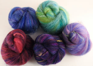 Sock Batts - Tall Tale- (3.9 oz.) - Inglenook Fibers