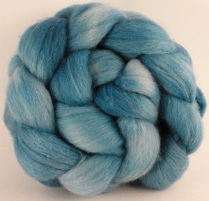 Batt in a Braid #44 - Saxon Blue - (5 oz) Southdown/Tussah Silk/Kid Mohair (65/25/10)