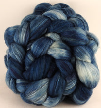 Batt in a Braid #5 - Indigo -(5.1 oz.) Merino/ Camel/ silk/ faux cashmere/ firestar (25/25/25/12/12)