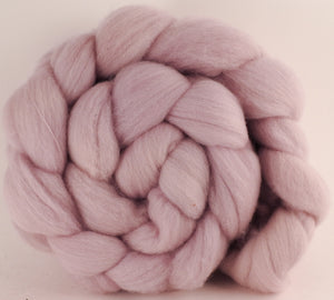 Hand dyed top for spinning - Logwood & Brazilwood- (6 oz.) Organic Polwarth - Inglenook Fibers