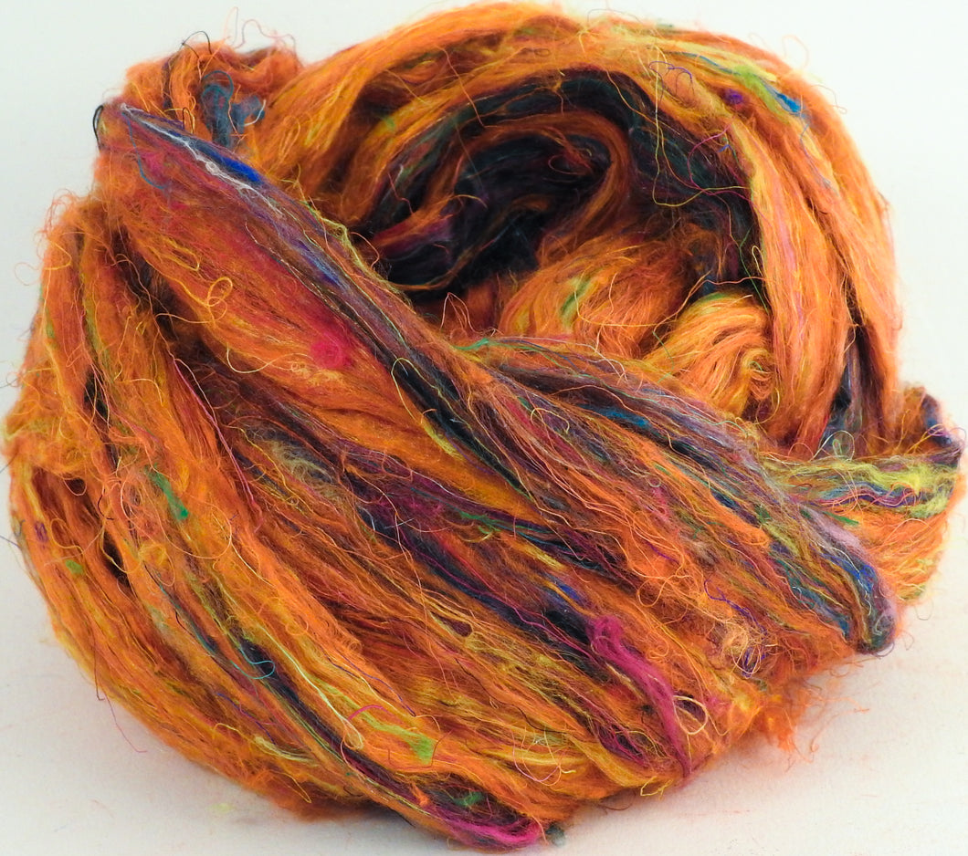 100% Sari Silk Top- Beach Fire - 1.5 oz. - Inglenook Fibers