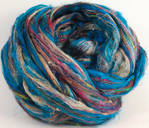 100% Sari Silk Top- Crest - 1.5 oz. - Inglenook Fibers