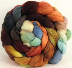 Squirrel's Pantry - Organic Polwarth / Tussah silk (80/20)