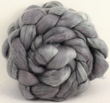 Mercury (5.7 oz) - Batt in a Braid #52- Wensleydale/ Mulberry silk/ Polwarth (60/25/15)
