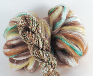 Sandstone - Superfine Merino/ Manx Loaghtan / Tweed Blend/ Silk  ( 40/25/25/10 )