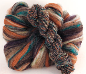 Basalt - Superfine Merino/ Manx Loaghtan / Tweed Blend/ Silk  ( 40/25/25/10 ) - Inglenook Fibers
