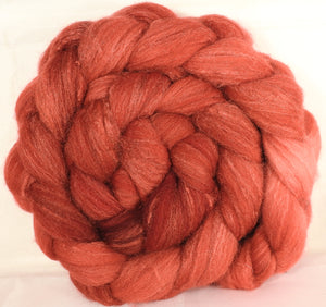 British Southdown/ tussah top (65/ 35) -Volcano - 5.4 oz.