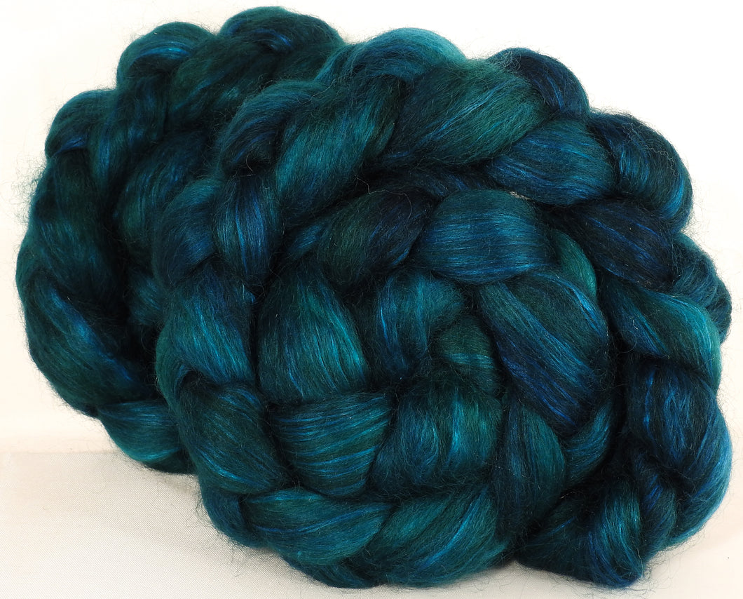 Wensleydale/ mulberry silk roving ( 65/35) -Fairy Pools - (5.3 oz.) - Inglenook Fibers