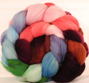 Rambouillet /tussah silk (75/25) - Outback in Bloom - 6.3 oz.