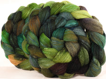 British Southdown/ tussah top (65/ 35) -Mossy - 5.4 oz.