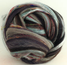 Misty Mountains - Merino/Shetland/Sari and Mulberry silks/Tweed Blend (40/25/25/10)