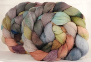 Falkland top for spinning - Pebble Mosaic- 5.1 oz.