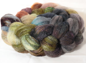 British Southdown/ tussah top (65/ 35) - Pebble Mosaic - 5.1 oz.