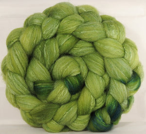 British Southdown/ tussah top (65/ 35) - Turf - 5.2 oz. - Inglenook Fibers