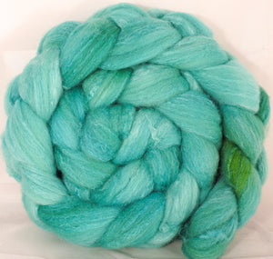 British Southdown/ tussah top (65/ 35) - Robin's Egg - 5.1 oz. - Inglenook Fibers