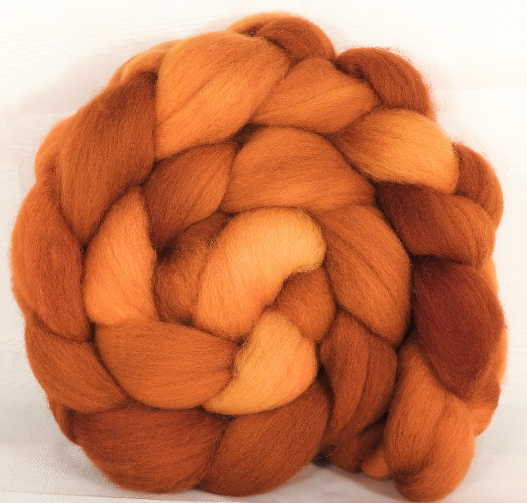 Falkland top for spinning -Turmeric - 5 oz. - Inglenook Fibers