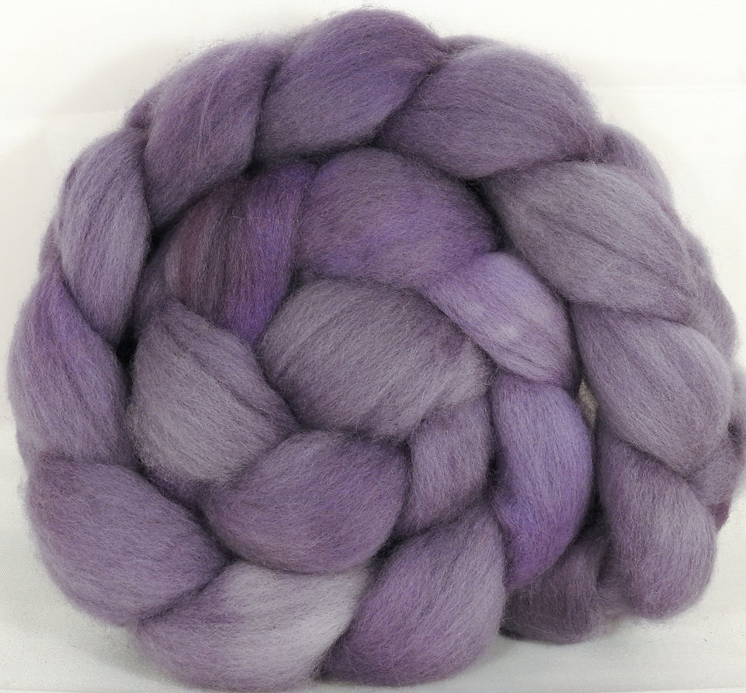 Falkland top for spinning -Pewter - 5.2 oz. - Inglenook Fibers