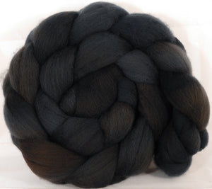 Falkland top for spinning - Soot - 5.1 oz. - Inglenook Fibers