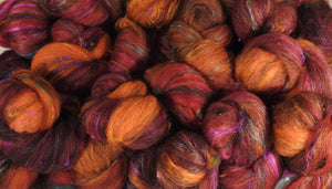 RESERVED for Liane-  Sumac - Sticklebatts (4 oz.) - - Inglenook Fibers