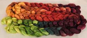 100 % Tussah Silk Top -Woodbine- 3.4 oz.