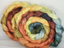 Tussah Silk / flax roving (65/35)- Gourds - 5 oz. - Inglenook Fibers