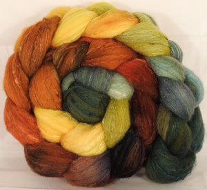 British Southdown/ tussah top (65/ 35) - Gourds - 5.3 oz. - Inglenook Fibers
