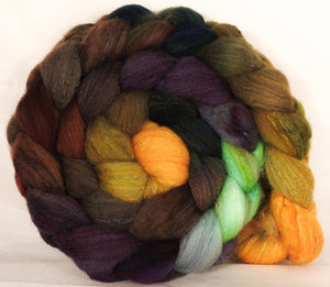 British Southdown/ tussah top (65/ 35) -Horn of Plenty  - 5.25 oz. - Inglenook Fibers