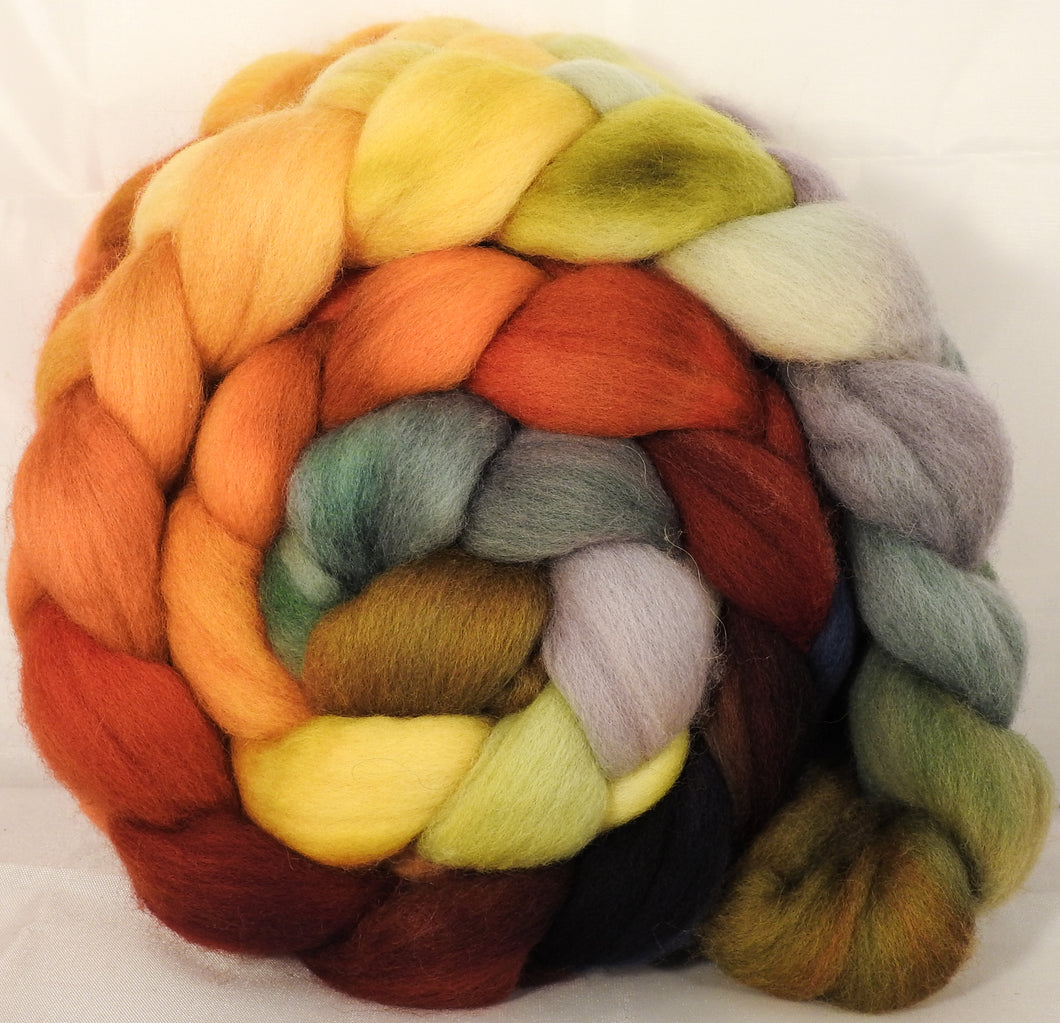 Falkland top for spinning -Gourds- 5.1 oz. - Inglenook Fibers