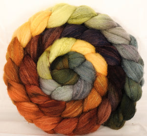 British Southdown/ tussah top (65/ 35) - Gourds - 6.3 oz. - Inglenook Fibers