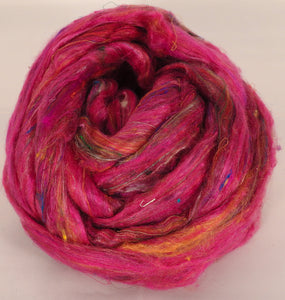 100% Sari Silk Top- Alizarin- 1.5 oz. - Inglenook Fibers