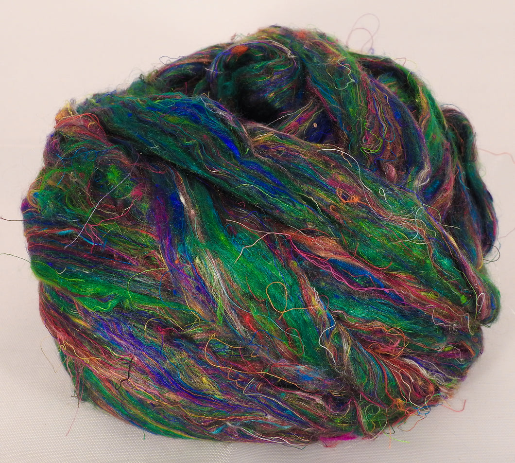 100% Sari Silk Top- Viridian- 1.5 oz.