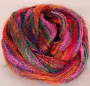 100% Sari Silk Top-Cinnabar- 1.5 oz.