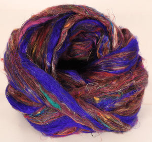 100% Sari Silk Top- Lapis- 1.5 oz. - Inglenook Fibers