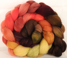 Falkland top for spinning -Burning Bush - 4.9 oz. - Inglenook Fibers