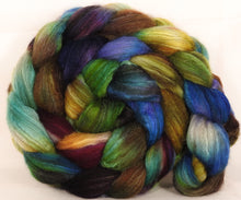 Mixed UK Bfl/ Tussah Silk  ( 75/25) - 5.3 oz. - Inglenook Fibers