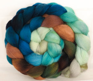 Falkland top -Sea Turtle- (5.1 oz.) - Inglenook Fibers