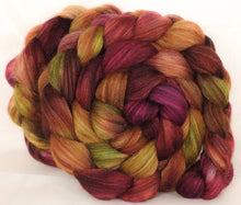 Mixed UK Bfl/ Tussah Silk  ( 75/25) -  5.15 oz. - Inglenook Fibers