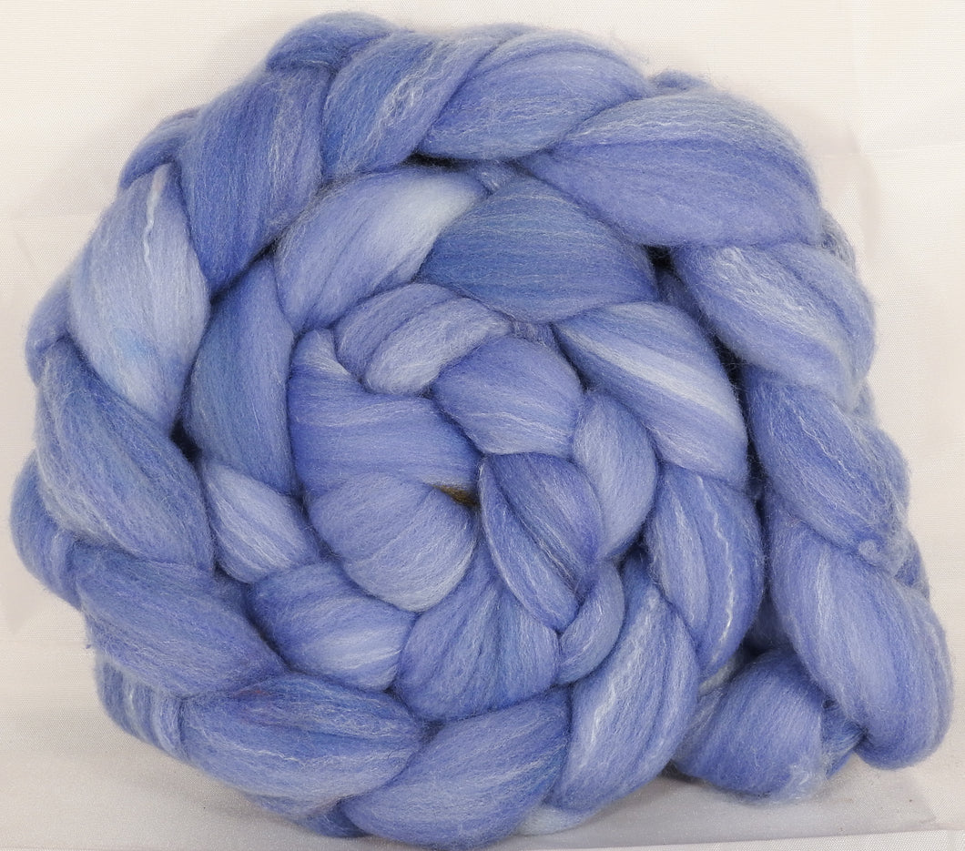 Hand dyed top for spinning - (5.4 oz.) Targhee/silk/ bamboo ( 80/10/10) - Inglenook Fibers