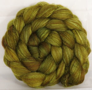 Mixed UK Bfl/ Tussah Silk  (75/25) - Asparagus - 5.4 oz.