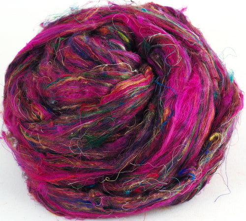 100% Sari Silk Top-Firework- 1.5 oz.